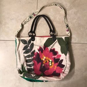 Anthropologie canvas tote